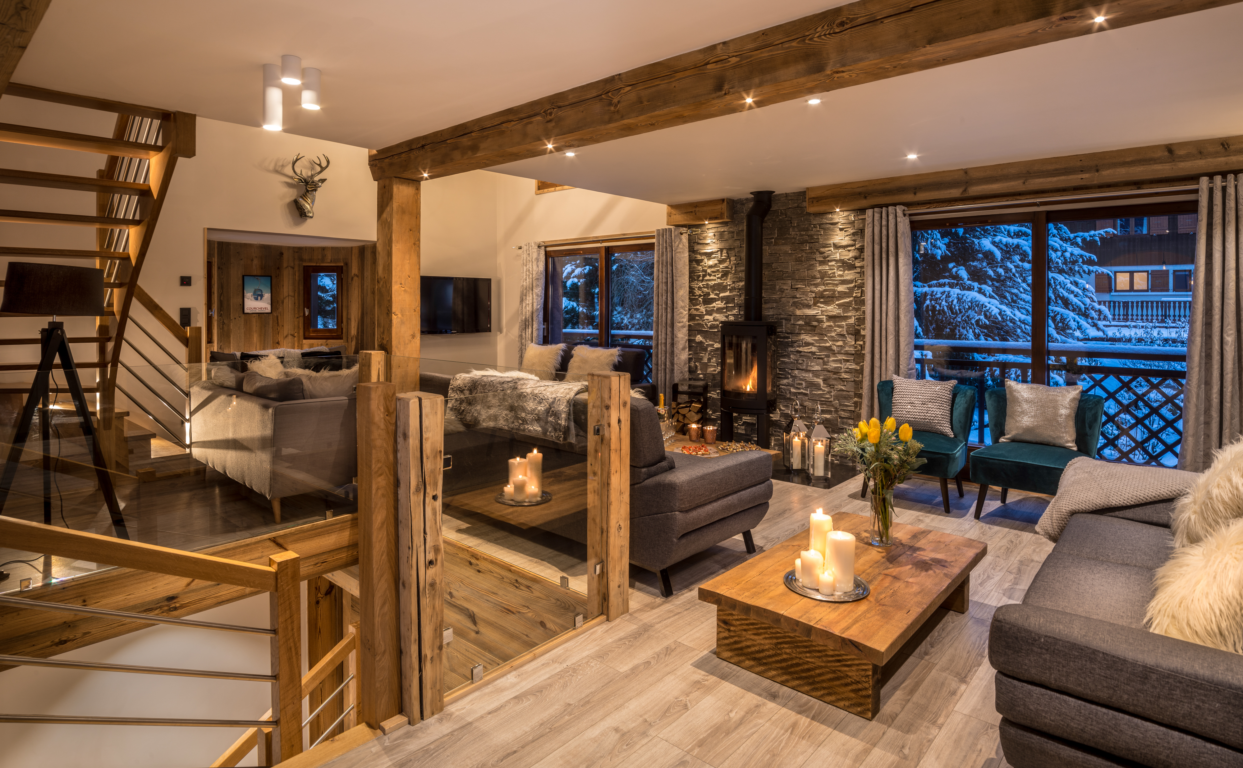 Living Space Chalet