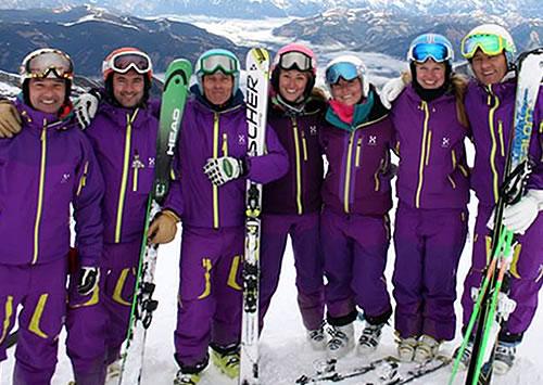 Ski Coaching ski lessons
